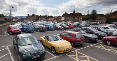 Various Types of Parking-Transportation Engineering
