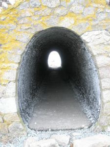 Egg shaped tunnel