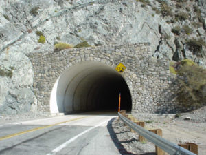 2.Saddle  or base tunnel