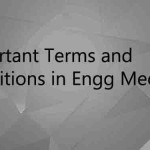 5 Important Terms and Definitions in Engineering Mechanics Everyone Should Know