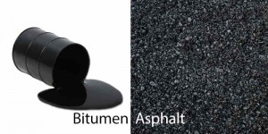 Difference Between Bitumen, Tar and Asphalt