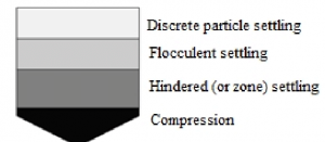 Types of sedimentation