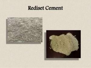 Rediset cement