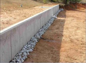 What is retaining wall