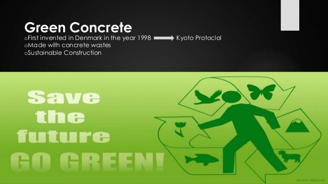 What is Green Concrete and its Uses, Advantages and Applications?