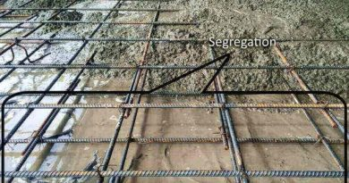 What is segregation of concrete?